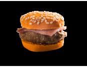 Mini burger forestier à la viande de sanglier